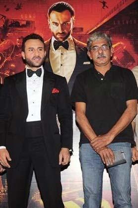 Saif Ali Khan With Sriram Raghavan