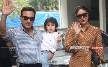 Preggers Kareena Kapoor Khan And Saif Ali Khan's Son Taimur Ali Khan Is 'Super Excited' For His Sibling's Arrival-EXCLUSIVE