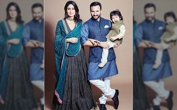 Diwali 2019: Kareena Kapoor Khan Is Such A Poser In This BTS Home Video Starring Saif Ali Khan And Taimur Ali Khan
