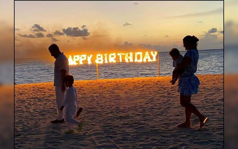 Kareena Kapoor Khan Drops A Family Photo With Taimur, Jehangir And Saif Ali Khan From Her Birthday Celebration And It's All About Love