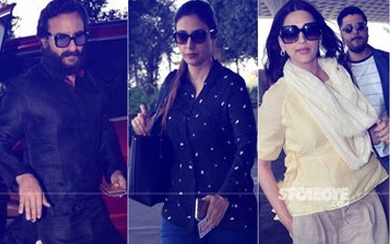 Blackbuck Poaching Case: Rajasthan HC To Hear Plea Challenging Acquittal of Saif Ali Khan, Tabu, Sonali Bendre