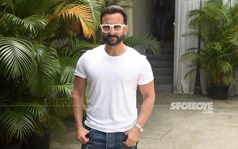 Saif Ali Khan Gets His Second Jab Of COVID-19 Vaccine Amid Surge In Coronavirus Cases Across India- VIDEO