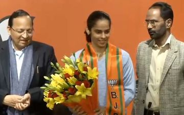 Ace Badminton Player Saina Nehwal Joins BJP, Says 'Looking Forward To Work Hard For The Country'