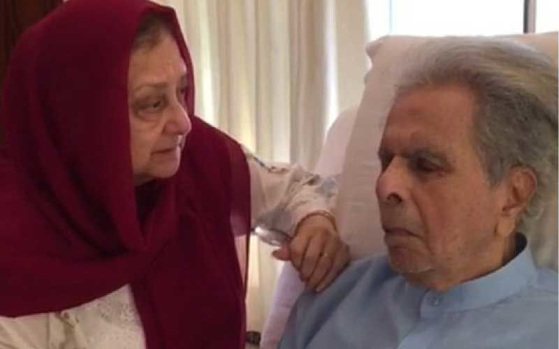 Dilip Kumar Demise: Veteran Actor's Wife Saira Banu Is Inconsolable As She Takes His Mortal Remains To Their Residence