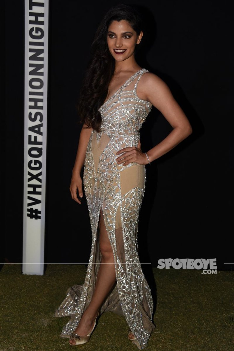 Saiyami Kher At GQ Fashion Nights