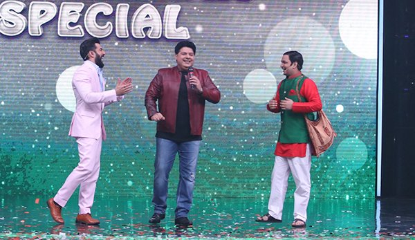 sajid khan in super dancer2