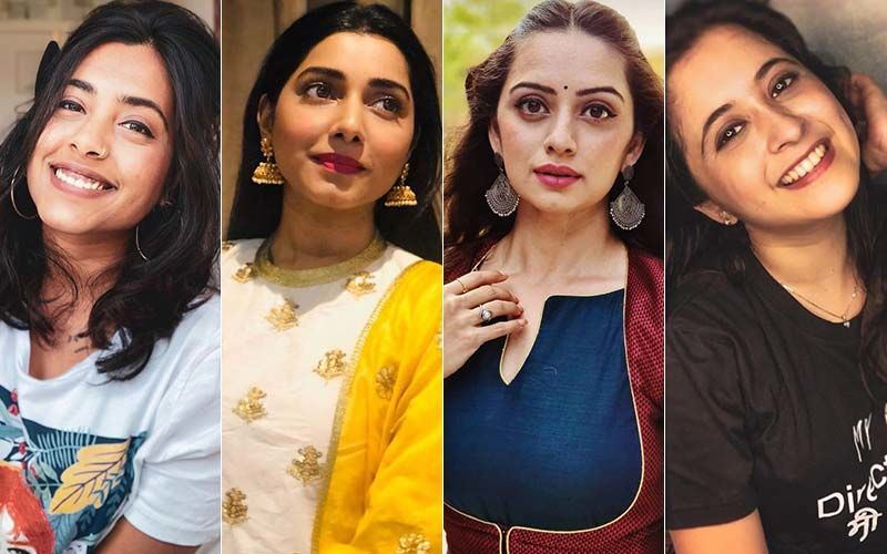 Marathi Divas Sakhi Gokhale, Gauri Nalawde, Shruti Marathe  And Gayatri Datar Glam Up Social Media With Love For Saree
