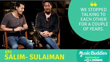 स्पॉटबॉय के नए शो म्यूजिक बडीज में नजर आई सलीम-सुलेमान की जोड़ी, देखें वीडियो