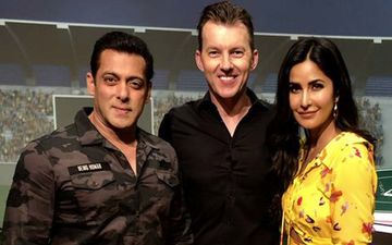 IPL 2019 Finale: Bharat Pair, Salman Khan-Katrina Kaif Pose With Brett Lee