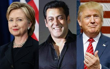 Clinton Or Trump-Guess Who Is Salman Khan Supporting In The US Presidential Elections?