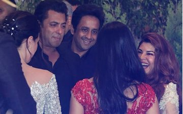 Sonam Kapoor Reception: Heads Turn, Salman Makes A Sizzling Entry With Jacqueline!