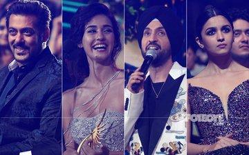 Salman Khan, Disha Patani, Diljit Dosanjh, Alia Bhatt Shine At IIFA 2017