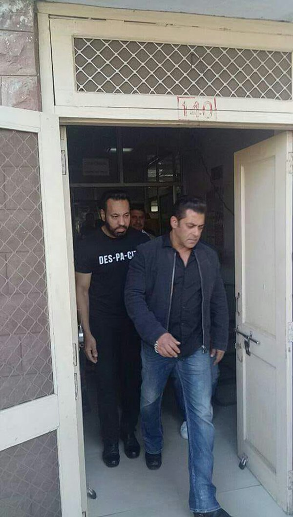 Salman Khan Enters Jail Again