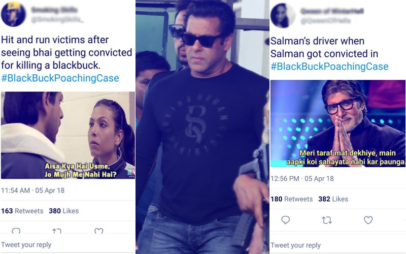 Trolls Mock Salman Khan's Verdict In The Blackbuck Case