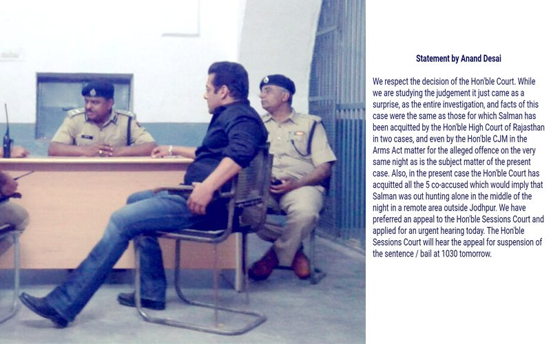 "Salman Khan's Lawyer Issues An Official Statement, Says ""Judgement Has Come As A Surprise"""