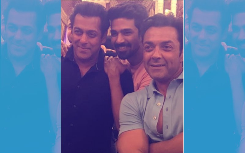 Pics From Salman Khan's Night Out With Bobby Deol, Jacqueline Fernandez, Saqib Salim