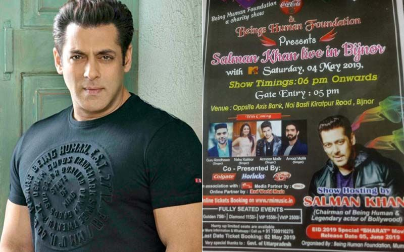 Salman Khan's Name Falsely Used In A Charity Event Advertisement; Actor Informs Fans About The Fraud
