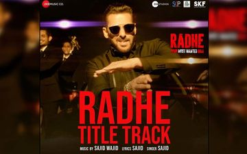 Radhe: Salman Khan Exudes Swag In The Title Song Poster; Make Way For Another Chartbuster As Song Releases Tomorrow