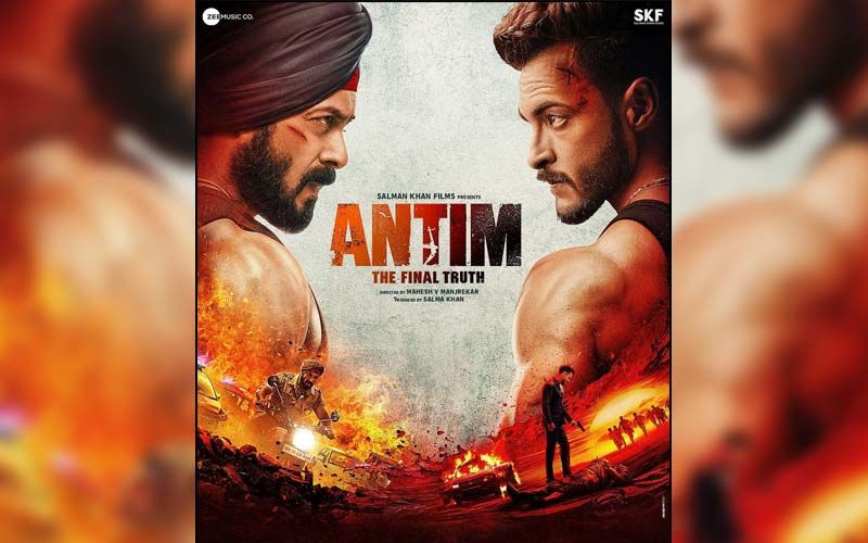 Antim-The Final Truth FIRST Poster Out: Salman Khan And Aayush Sharma's Intense Look As They Face Off Each Other Will Raise Your Excitement
