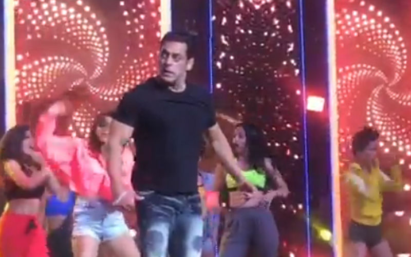 Salman Khan Sweats It Out As He Rehearses Before His Finale Act At IIFA Awards 2019