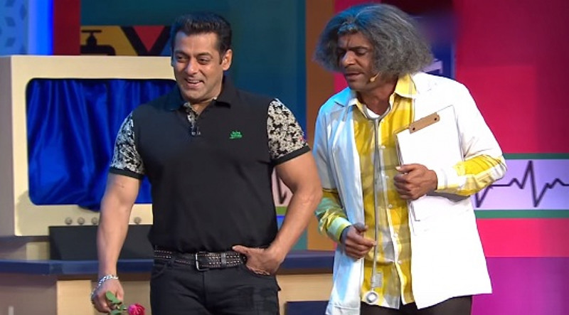 Salman Khan And Sunil Grover