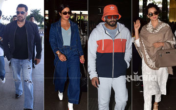 सलमान खान से लेकर रणवीर मुंबई  में अलग-अलग जगह पर स्पॉट हुए सितारे: देखिए तस्वीरें