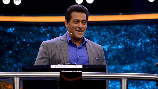 Salman Khan On The Sets Of Dus Ka Dum