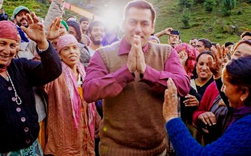 SOCIAL BUTTERFLY: It's A Wrap For Salman's Tubelight