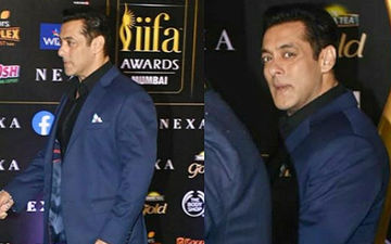 Salman Khan At IIFA Awards 2019: Bhai Is Here With His Dabangiri And Swag As He Sticks To His Favourite Blue