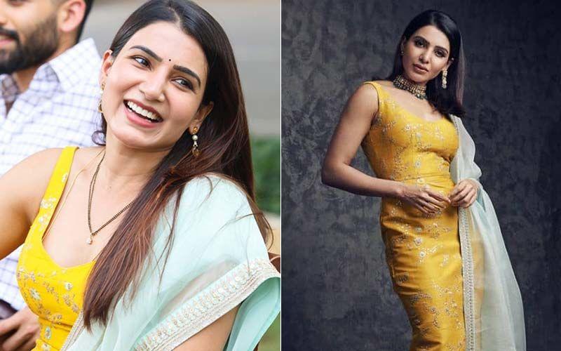 Rana Daggubati-Miheeka Bajaj's Roka: Samantha Akkineni Repeats Her Gorgeous Sabyasachi Outfit And We're Loving Her Au Naturel Look