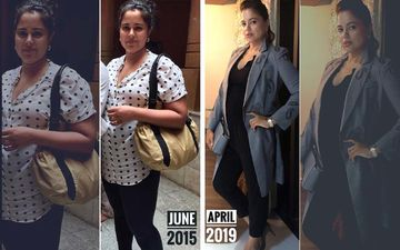 "Sameera Reddy Shares Pre And Post-Pregnancy Pictures; Says Her ""Confidence Was Shattered"" After Gaining 32 Kgs"