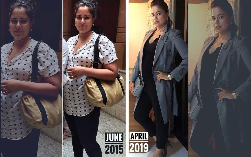 """Sameera Reddy Shares Pre And Post-Pregnancy Pictures; Says Her """"Confidence Was Shattered"""" After Gaining 32 Kgs"""
