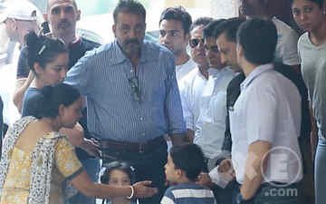 Dutt Goes Back To Jail