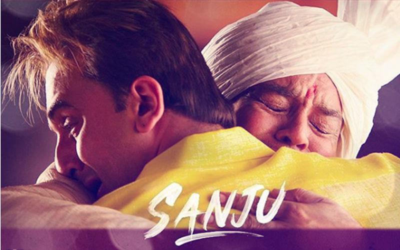 Sanju Poster: Father's Day Is Happier, Thanks To Ranbir Kapoor and Paresh Rawal's 'Jadoo Ki Jhappi'