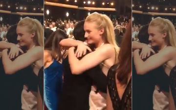 Emmy Awards 2019: Sansa Stark Aka Sophie Turner And Jon Snow Aka Kit Harington's Long Hug Gives People GoT Feels