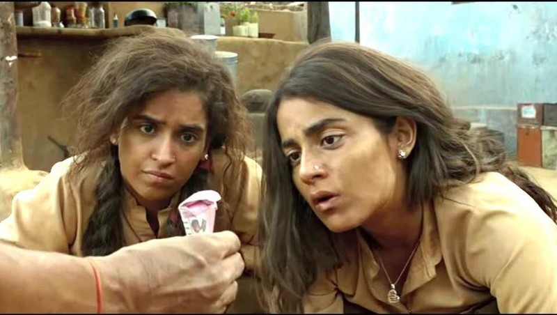 Sanya Malhotra And Radhika Madan In Patakha