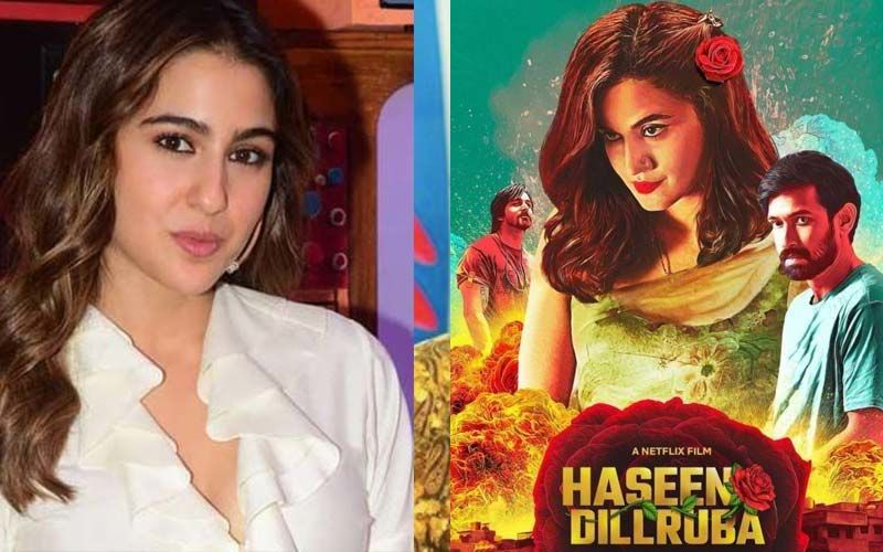 Sara Ali Khan Gives Fans A Glimpse Of Her 'Movie Time'; Actress Shares Her Review Of Taapsee Pannu's Film Haseen Dillruba