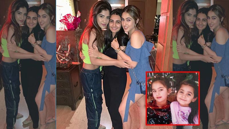 Sara Ali Khan Celebrates Her 'First' Friend's Birthday In The Sweetest Way; Treats Fans With Adorable Throwback Pictures