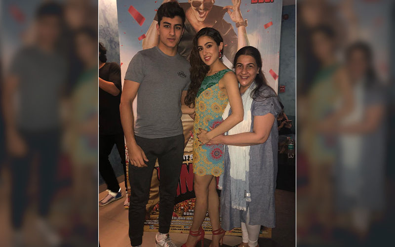 Amrita Singh's Favourite Child Is Not Sara Ali Khan Or Ibrahim Ali Khan; Who Is It? Sara Makes The Big REVEAL