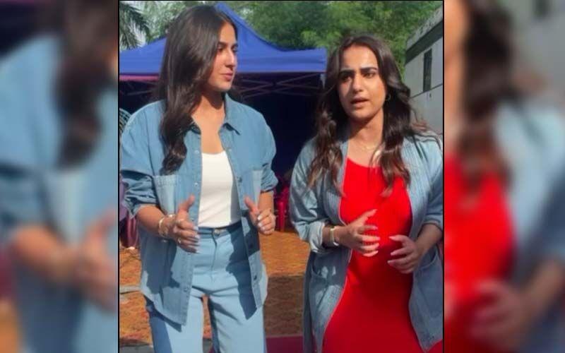 Sara Ali Khan Pokes Fun At Herself As She Creates Her Version Of Squid Game's 'Red Light, Green Light', Featuring Kusha Kapila-WATCH