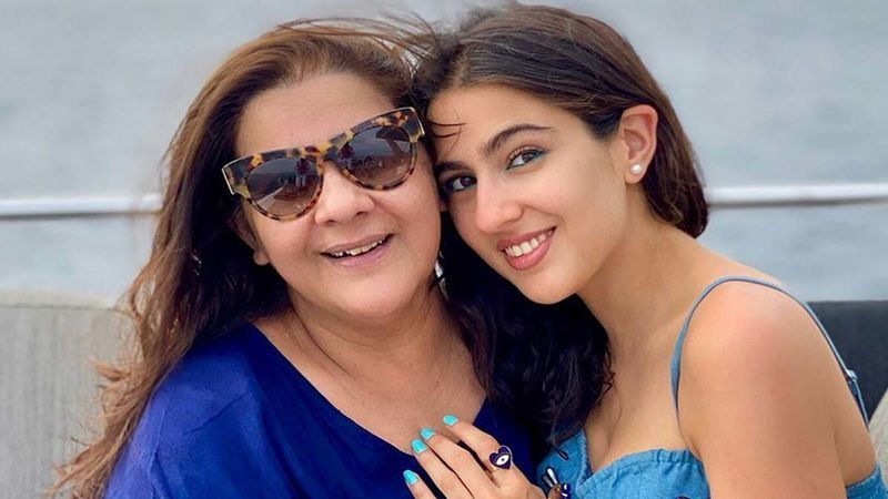 Sara Ali Khan And Amrita Singh To Come Together Onscreen For The First Time To Endorse A Hair Care Brand; Actress Enjoys A Champi Session With Her Mom
