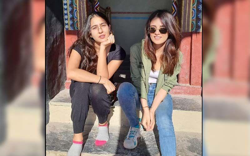 Sara Ali Khan Gives Fans A Sneak Peek Of Her Ladakh Vacay With Radhika Madan; Check Out PHOTOS