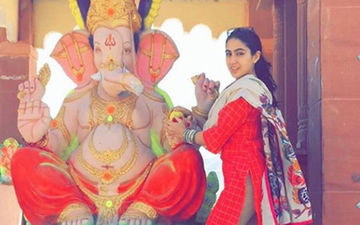 Sara Ali Khan Gets Shamed For Posting A Picture On Ganesh Chaturthi, Fans Come Out In Support, Blast Trolls