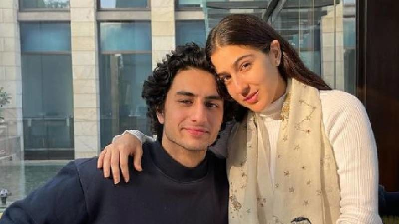 Sara Ali Khan Holding Brother Ibrahim Ali Khan In Her Arms In This Throwback Childhood Picture Is Beyond Adorable; Calls Herself His 'No 1 Protector'