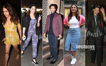 Sara Ali Khan, Tamannaah Bhatia, Aditya Roy Kapur, Parineeti Chopra, Madhuri Dixit Paint The Town Red!