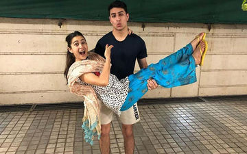 "Sara Ali Khan Shares Goofy Pictures With Birthday Boy Ibrahim; Calls Him, ""Best Brother In The World"""