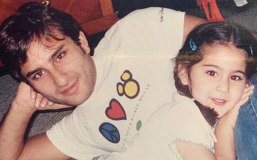 Sara Ali Khan Shares An Adorable Throwback Picture Of Herself With Abba Saif Ali Khan; Calls Him 'Personification Of Mickey Mouse'