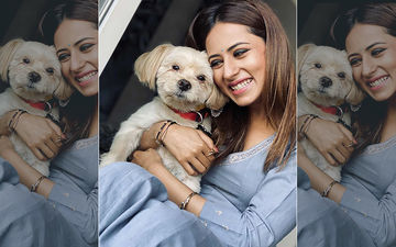 Sargun Mehta Poses With Her Pet Moyo, Shares Adorable Picture On Instagram