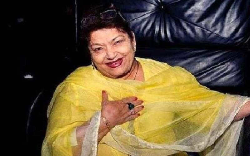 Legendary Choreographer Saroj Khan Passes Away Due To Cardiac Arrest; She Was 71-Years-Old