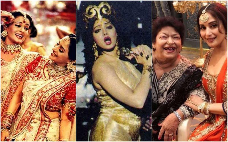 Saroj Khan Demise: Dola Re Dola, Dhak Dhak, Tabaah Ho Gaye - Look At Masterji's Most-Loved Choreographies